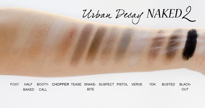 Naked2 Eyeshadow Palette by Urban Decay #5