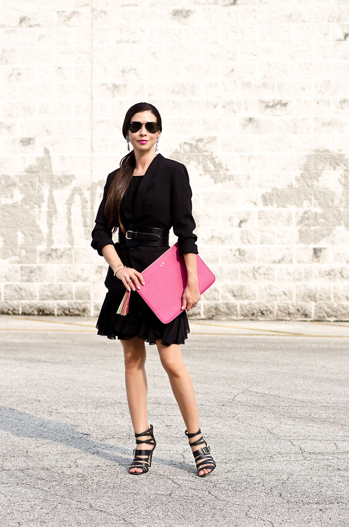 Outfit Of The Day: The Modern Little Black Dress