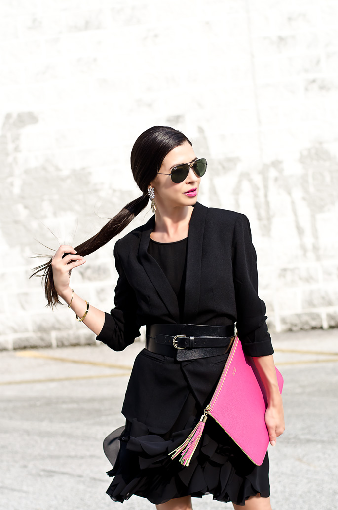 Outfit Of The Day The Modern Little Black Dress The