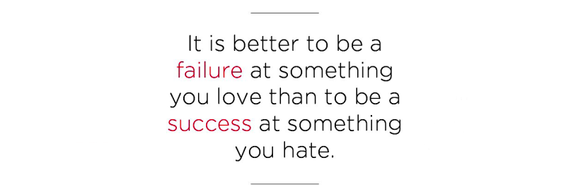 inspirational quote about success and failure the