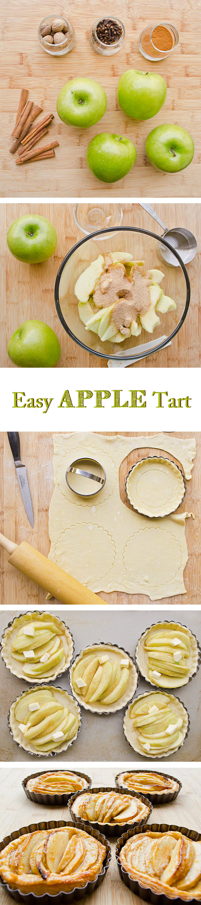 Easy Apple Tart Recipe With Step By