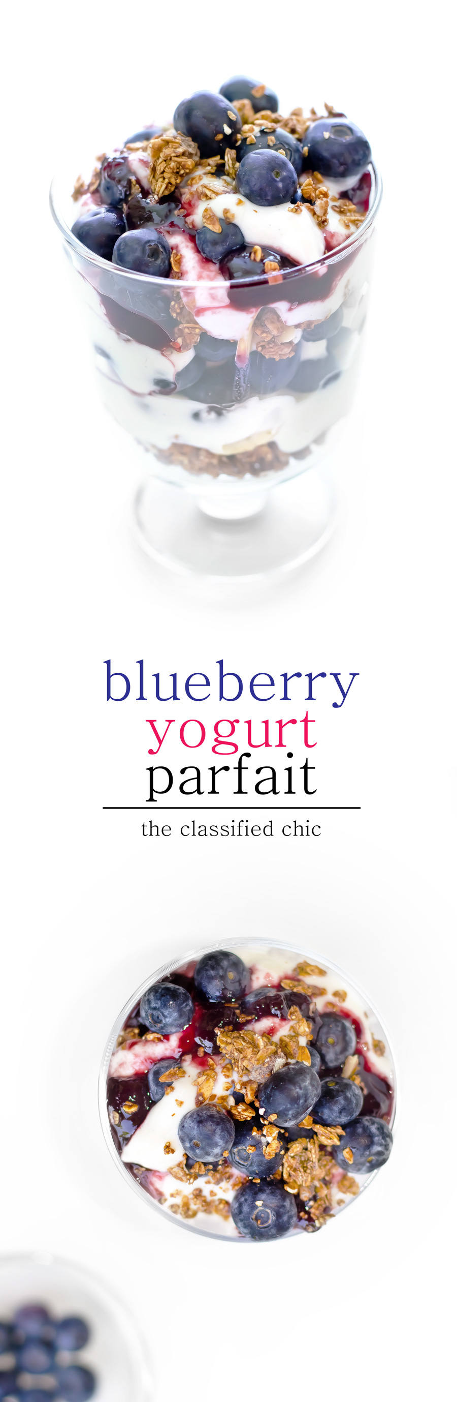 blueberry yogurt parfait recipe