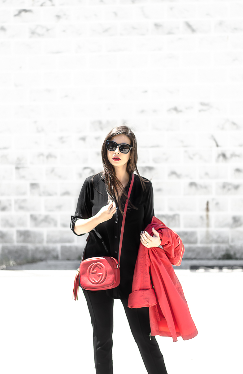 62129bb30da0 Fall   Winter Fashion Must Haves with Stein Mart featuring a Gucci Soho  Disco Bag Red