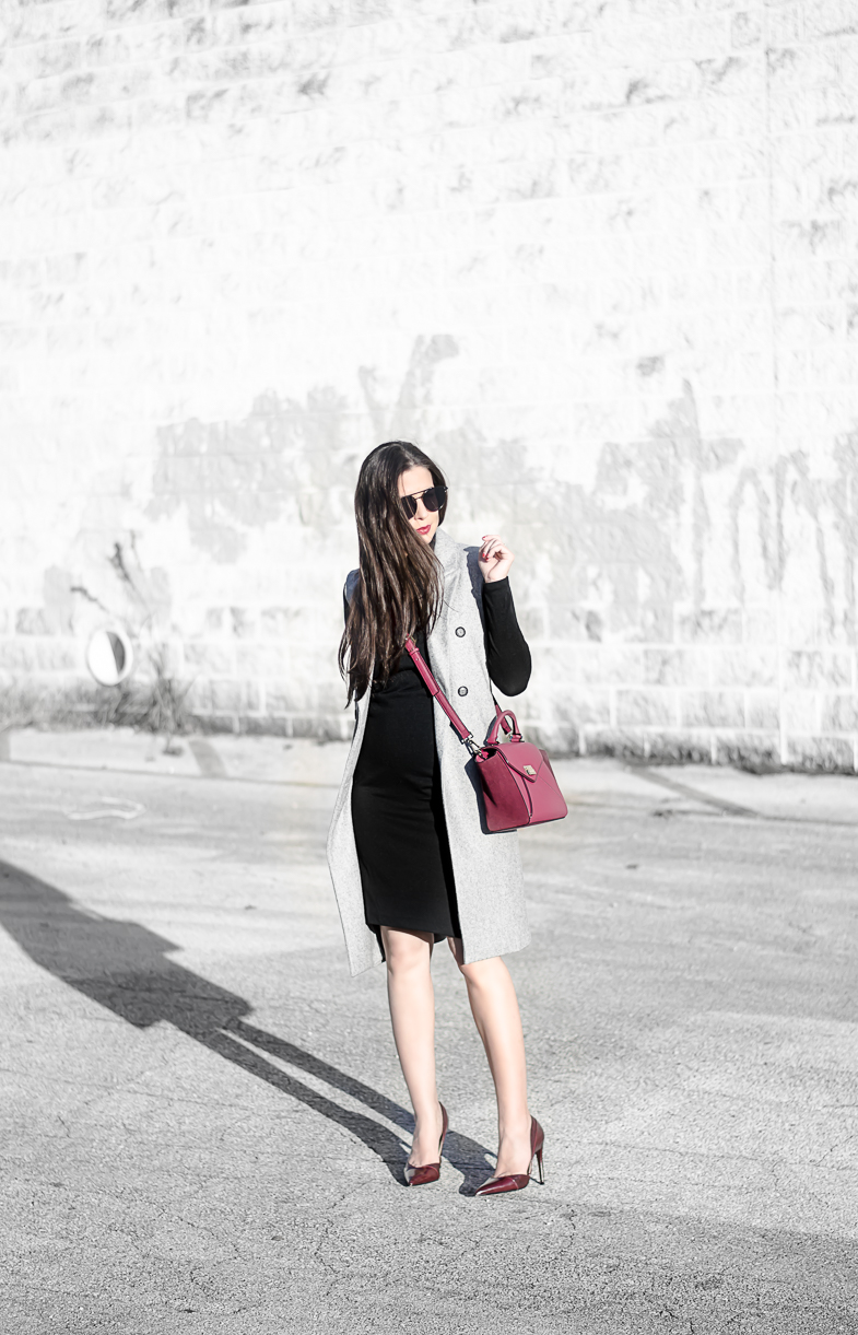 Sweater Dress with Vest from Banana Republic. The Classified Chic life & style blog. Fall & Winter Fashion